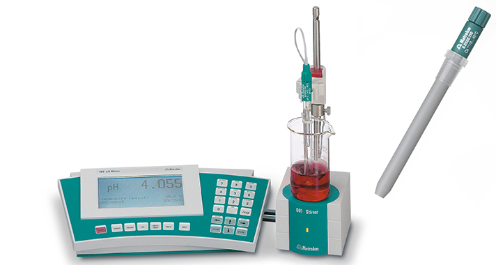 Determine ammonium with the ion-selective electrode