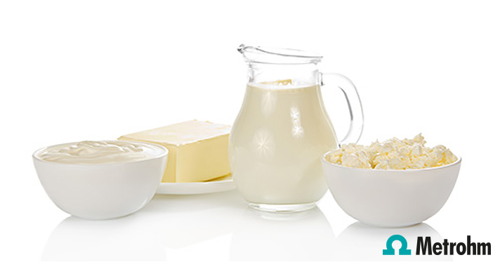 Calcium (magnesium) in dairy products