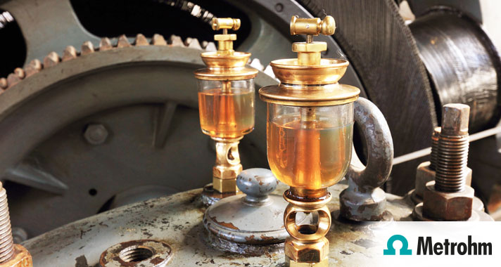 Determination of the oxidation stability of motor oil