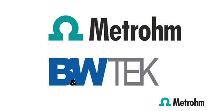 Joining forces – Metrohm and B&W Tek to take Raman spectroscopy to the next level