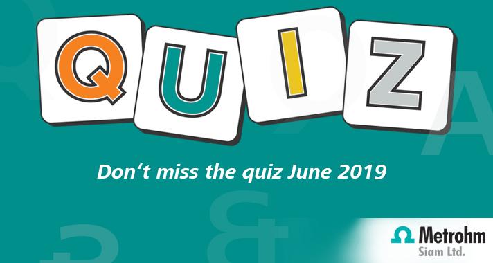 June 2019 Quiz