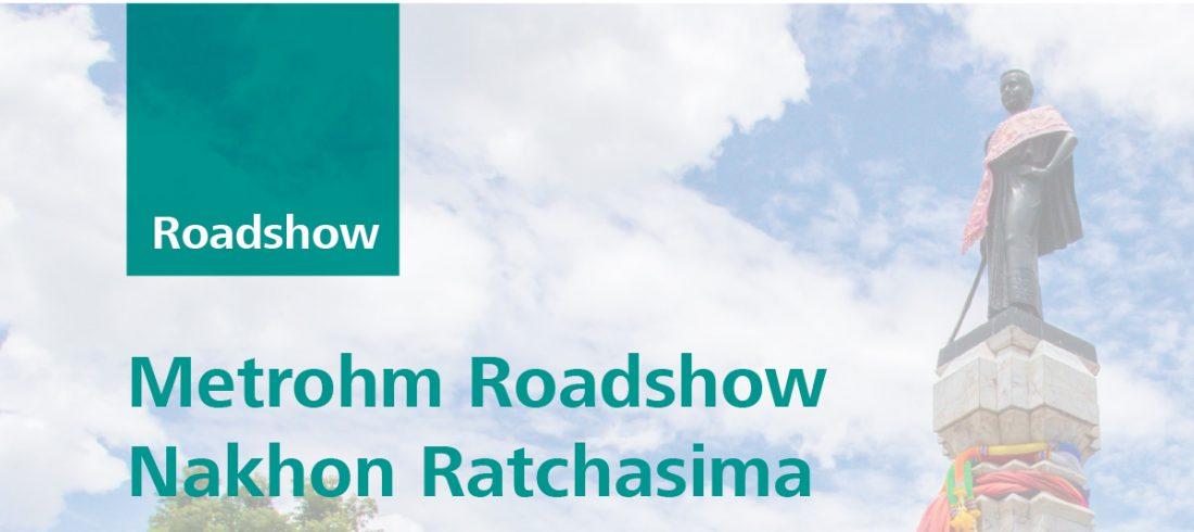 Metrohm Roadshow Nakhon Ratchasima 26 July 2019